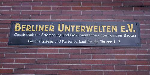 Berlino sotterranea, Berliner Unterwelten.