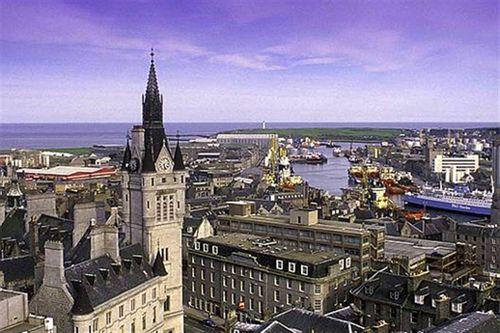Aberdeen in Scozia.