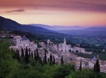 Assisi, una magnifica vista.