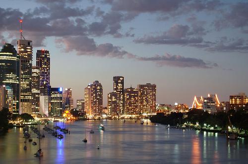 Brisbane nel Queensland
