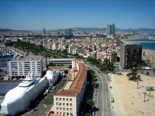 La Barceloneta a Barcellona.