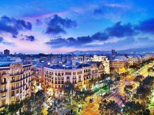 Barcellona, le zone più importanti.