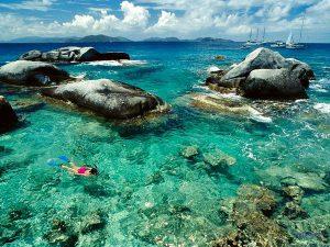 Snorkeling alle isole Bermuda.