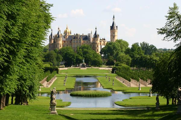 Il castello di Schwerin.