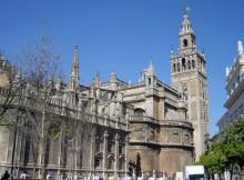 La cattedrale di Siviglia.