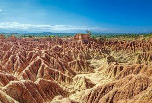 Il deserto di Tatacoa in Colombia.