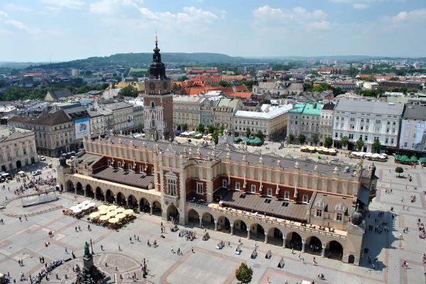 Cracovia in Polonia.