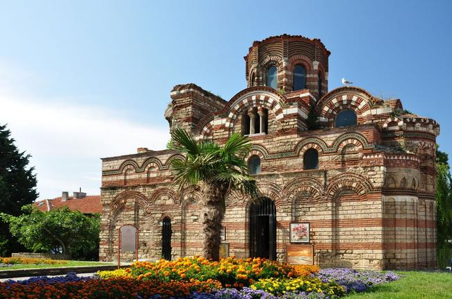 La chiesa del Cristo Pantocratore a Nessebar.