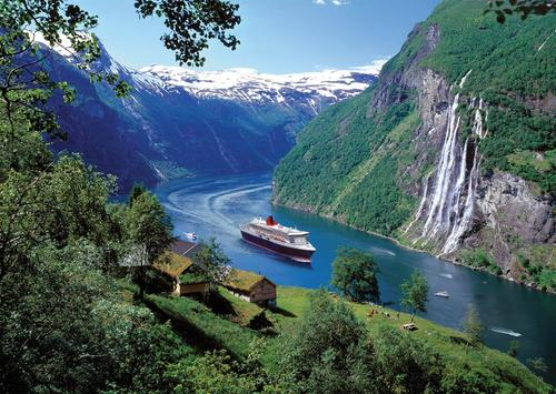 Crociera ai fiordi norvegesi.