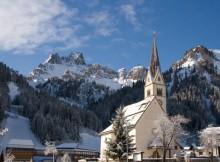 Vista delle Dolomiti.