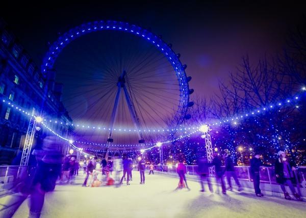 Il Natale a Londra ad Eyeskate.