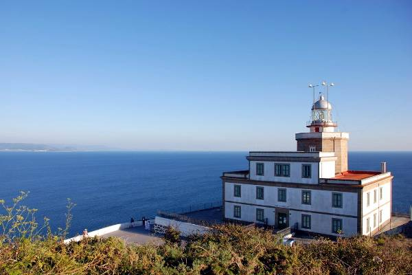 Il faro di Capo Finisterre in Spagna.