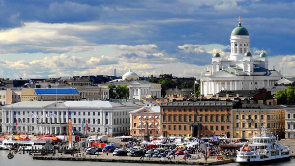 Helsinki in Finlandia.