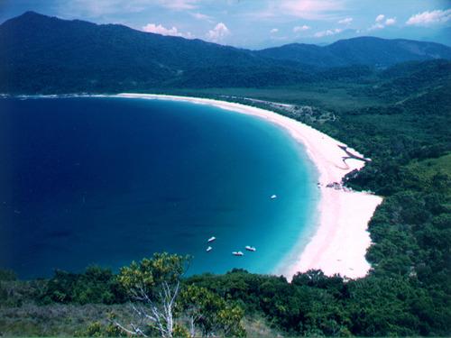 Spiaggia di Ilha Grande, in Brasile.