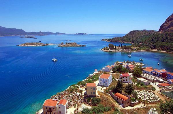 Isola di Kastellorizo, Grecia.