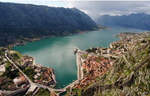 Kotor in Montenegro, la baia di Cattaro