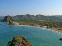 Lombok in Indonesia.