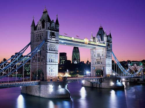 Londra, Tower Bridge.