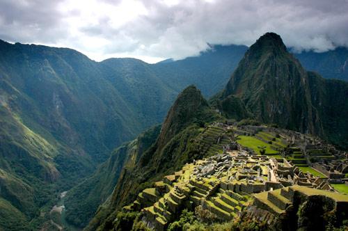 Machu Picchu in Perù.