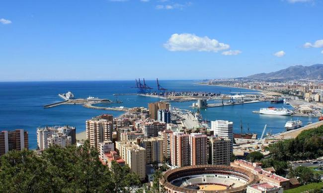Malaga, Spagna.