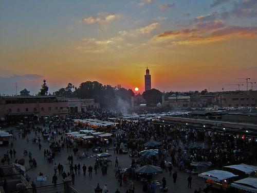 Marrakech, Jemaa el Fna
