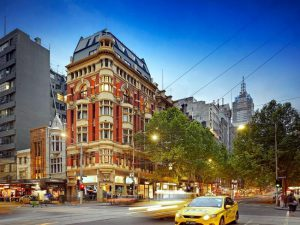 Collins Street a Melbourne.