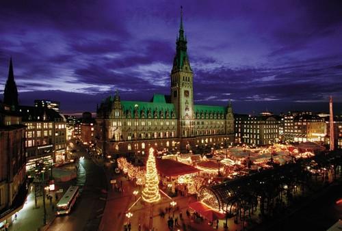 Mercatino natalizio a Vienna.