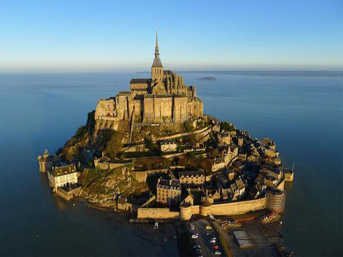Mont Saint-Michel in Francia.