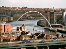 Newcastle in Inghilterra.