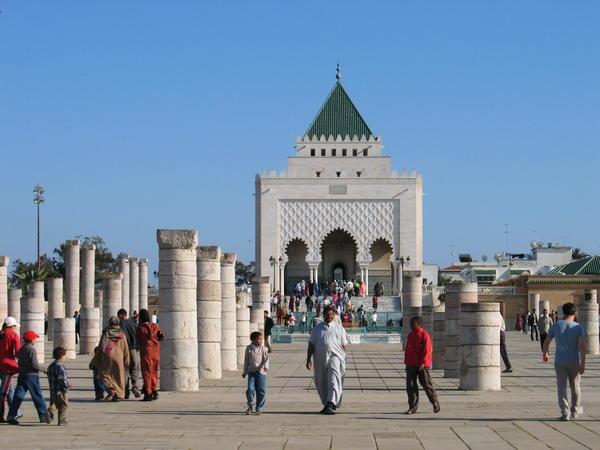 Rabat, il mausoleo di Mohammed V.