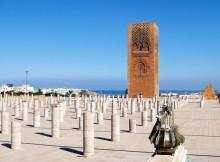 Rabat, la Torre di Hassan.
