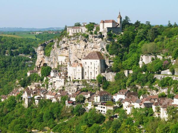 Rocamadour in Francia.