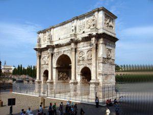 Arco di Costantino, Roma.