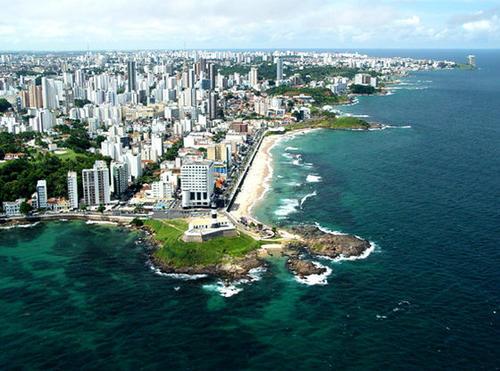 Salvador de Bahia in Brasile.