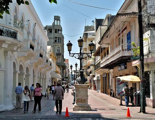 Santo Domingo, la zona coloniale da visitare.