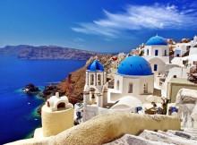 Isola greca di Santorini, Grecia.
