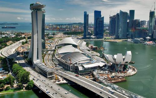 Singapore in Asia.