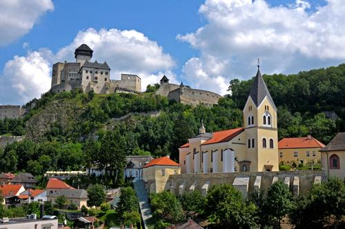 Slovacchia, Trencin.