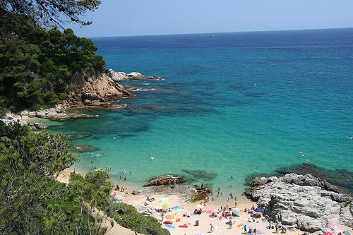 Spiaggia in Spagna