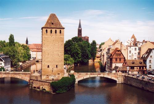 Strasburgo in Francia.