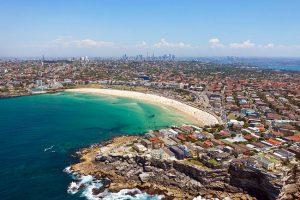 L'area di Bondi a Sydney.