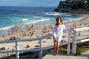 La spiaggia di Bronte a Sydney.