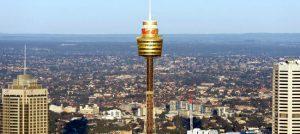 LA Sydney Tower, torre di sydney.