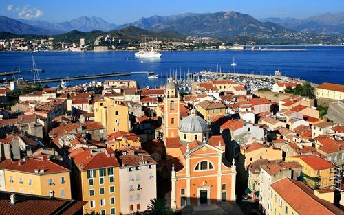 Ajaccio in Corsica.