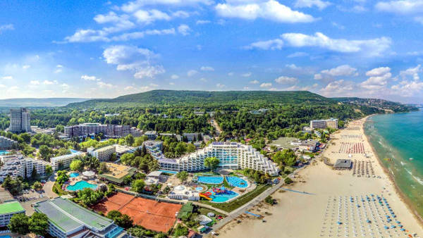 Albena in Bulgaria: hotel, resort e una delle migliori spiagge sul Mar Nero.