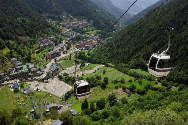 Natura nel principato di Andorra.