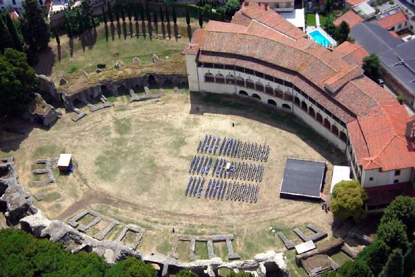 Anfiteatro Romano di Arezzo.