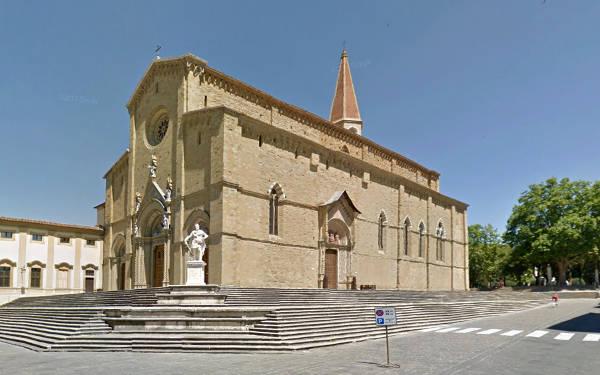 La Cattedrale di Arezzo.