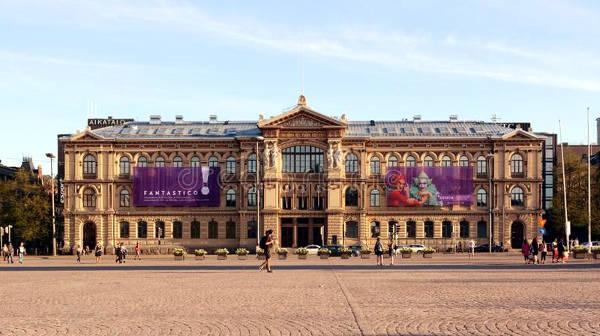 Ateneum Art Museum di Helsinki, in Finlandia.