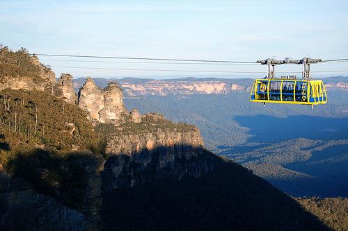 Blue Mountains nel Nuovo Galles del Sud